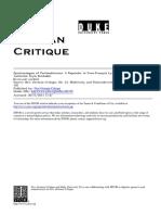 Epistemologies of Postmodernism. a Rejoinder to Lyotard