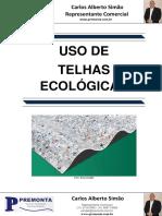 Uso de Telhas Ecológicas