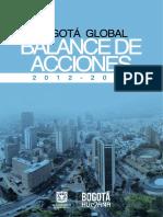 Balance de Acciones 2012-2015. Dirección Relaciones Internacionales