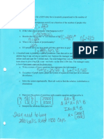 unit 2 test review- key | System Of Linear Equations | Equations
