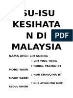 Isu Isu Kesihatan Di Malaysia