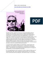 Muñoz, Victor - Los Anarquistas bajo la dictadura de Pinochet en Chile