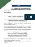 Archivo Fiscal Año 2006
