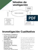 Métodos Cualitativos II