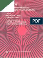 Alonso Finn (español) Vol3 Fundamentos Cuanticos Estadisticos, física