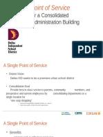 Facility consolidation proposal - Dallas ISD