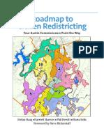 Roadmap to Citizen Redistricting (Austin)