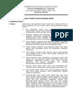 Syarat-Syarat Umum Kontrak Konsultansi