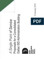 New Dallas ISD Consolidation