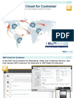 SAP Cloud for Customer Overview