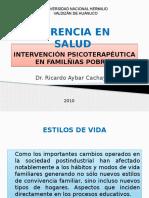Psicoterapia en Familias Pobres e Intervención Psicoeductativa