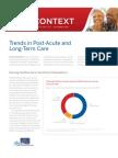 Evolution of Post-Acute (Nursing Home) Care