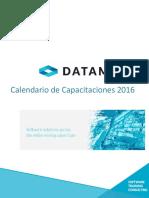 Calendario capacitaciones 2016