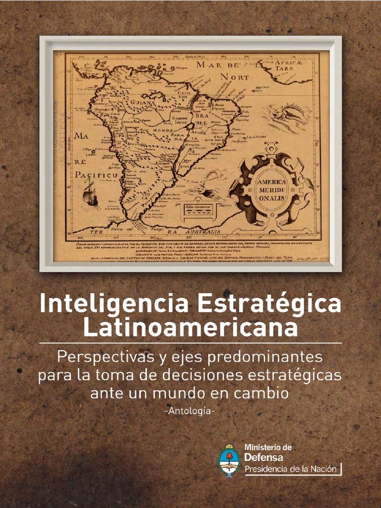 MINDEF Argentina Libro Inteligencia