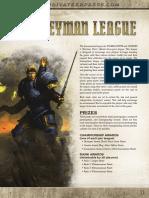 Journeyman League Rules 2015