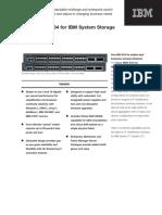 Cisco MDS 9134 for IBM System Storage
