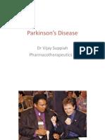 Lec 5 Parkinson's Disease