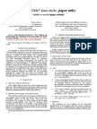 Formato IEEE Articles