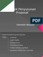 03- Teknik Penyusunan Proposal