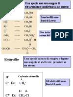 elettrofili e nucleofili