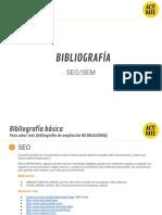 Bibliografía Mooc SEO-sem