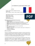Posición Oficial Francia MUN