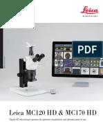 Leica MC120HD MC170HD Broschure En