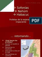 Sofonías Nahum Habacuc