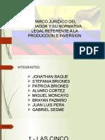 Marco Juridico Del Ecuador Corregido