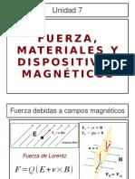 07 Unidad VII Materiales Magneticos