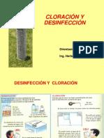 Cloracion y Desinfeccion Julio 2011