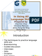 Techniques Using All Language Skills