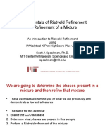 6c Fundamentals of Rietveld Refinement Additional Examples HSP v3 Revised July2012