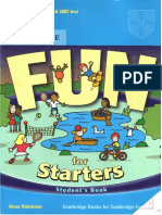 Fun for Starters Student 39 s Book