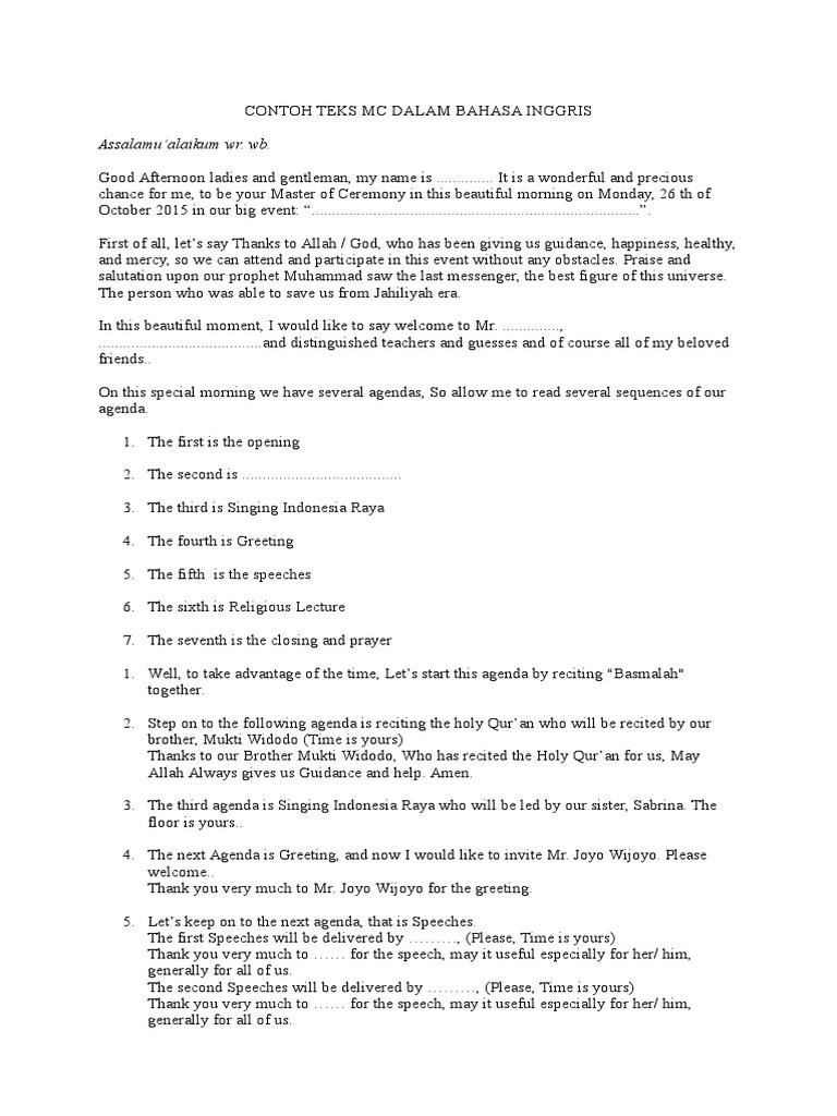 Contoh teks mc dalam bahasa inggris inggrisonlinec0mcx contoh teks mc dalam bahasa inggris inggrisonlinec0mcx religious faiths monotheism kristyandbryce Gallery
