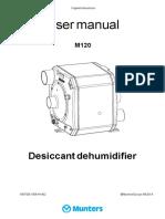 Munters Manual m120 En