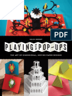 Pop-up The Art of Dimensional, Moving Paper Designs