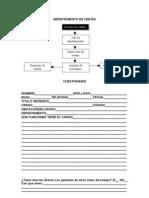 Analisis de Cargo -Departamento de Ventas