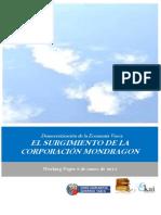 Democratizacion de la Economia Vasca. EL SURGIMIENTO DE LA CORPORACION MONDRAGON
