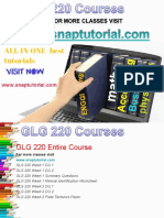 GLG 220 Academic Success /snaptutorial