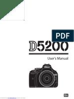 D5200 - User Manual