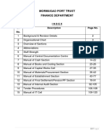 FINANCE Manual