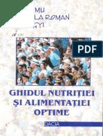 Ghidul Nutritiei Si Alimentatiei Optime