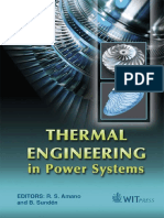 Research in thermal power