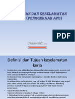 5.Penggunaan APD