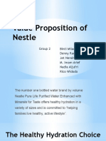 Value Proposition of Nestle