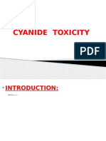 Cynide toxicity