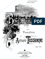 Toscanini Berceuse