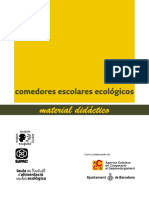 Comedores escolares ecológicos Material didáctico
