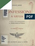 Borsi - Confessioni a Giulia